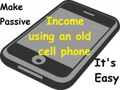 Selling or recycling your old cell phone gets you little or no money.  Instead, make easy, nearly passive income every day with apps for your android or apple smartphone.