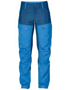 Fjellreven Keb Bukse Dame- UN Blue - 34