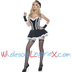 Wholesale French Maid FMC511 [FMC511] - $9.90 : LingeriePark