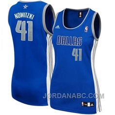 http://www.jordanabc.com/dirk-nowitzki-dallas-mavericks-41-womens-royal-blue-jersey.html DIRK NOWITZKI DALLAS MAVERICKS #41 WOMEN'S ROYAL BLUE JERSEY Only $69.00 , Free Shipping!