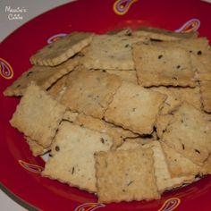 Saratele fara gluten / Gluten free crackers - Madeline's Cuisine