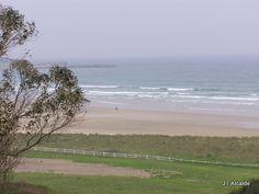playa de San Vicente de la Barquera, Cantabria