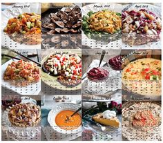 Raw food recipes I want to try.