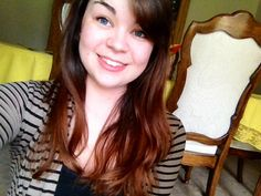 Finally red/brown hair