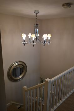 Potton Gransden show home with Connaught 8 arm light fitting. Led Light Fittings, Lighting Online, Arm, Chandelier, Homes, Ceiling Lights, Design, Home Decor, Candelabra