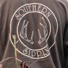 Southern Sippin' Antlers T-Shirt