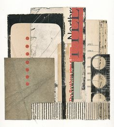 "Melinda Tidwell | 7.75 x 8"" collage on paper"