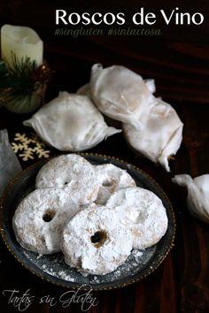 Roscos de vino #singluten #sinlactosa Los roscos de vino  son unos dulces navideños típicos de mi tierra adoptiva ... Málaga. Me ha costado sacar una receta perfecta ... pero por fin encontré la harina ideal ! Por norma en receta habría que tostar la harina pero no lo hice y el resultado fue perfecto!! Os puedo asegurar que están deliciosos!! Ese aroma, ese sabor y esa dulzura hacen de este dulce una delicia.