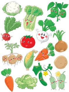 Grafika átlátszó háttérrel - Zöldség