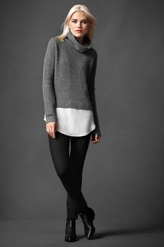 eileen fisher fall outfit