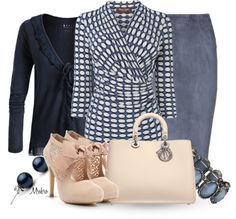 """""""A day in the office ..."""" by mrsbro ❤ liked on Polyvore"""