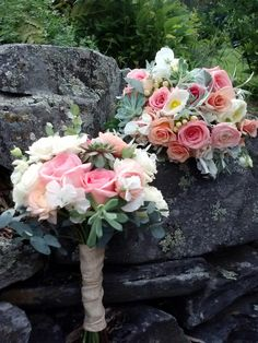 Beautiful bouquets by All About Flowers, St Johnsbury Vermont