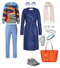 """""""colored coat"""" by nadlenko ❤ liked on Polyvore featuring Harris Wharf London, Etro, STELLA McCARTNEY, Valentino, Linda Farrow, Alexis Bittar, Cartier, Topshop and Tod's"""