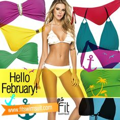 A great month for a romantic getaway by the sea!  For Valentine's day, give her something unique that she and you will love. Go to www.fitswimsuit.com and buy her the most beautiful bikini for that special date. #february #bikini #fit #fitness #beachbody #deals #valentinesday #romantic #sea #beach #miami #florida #buynow #love #beautiful