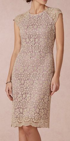 BHLDN  Shined Lace Shift