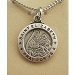 St. Elizabeth Patron Saint Medal [Silver]
