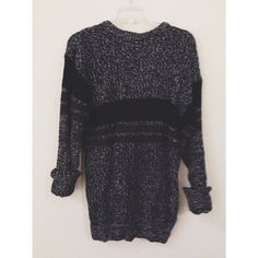 Vintage Cozy Oversized Knit Pullover Sweater by HeyItsHipster, $10.00