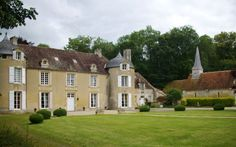 SE of Caen: chateau d'ailly; 130 euros/nite;  http://www.bienvenueauchateau.com/en/chateau-dailly-2/