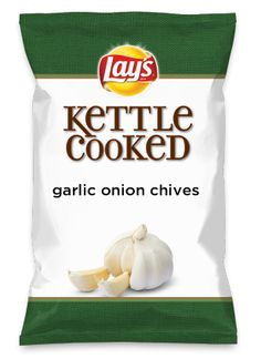 Wouldn't Chip Scampi be yummy as a chip? Figured why not take the garlic, lemon and butter from the fish and make it into a chip! Minus the shrimp of course! Lays Chips Flavors, Potato Chip Flavors, Lays Potato Chips, Garlic Hummus, Garlic Parmesan, Roasted Garlic, Garlic Butter, Garlic Salt, Carmelized Onions