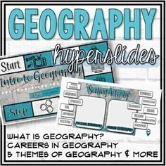 This highly engaging Introduction to Geography interactive Google slides resource includes activities covering the following topics: 26 Vocabulary (Human Geography, Physical Geography, Geographer, Physical Map, Political Map, Thematic Map, Robinson Projection, Compass Rose, Equator, Prime Meridian, ...