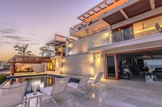Casa Tokase is a stunning cliffside masterpiece, majestically situated on an oceanfront cliff, overlooking the crashing waves of the Pacific Ocean in the exclusive, gated community of Pedregal de Cabo San Lucas.