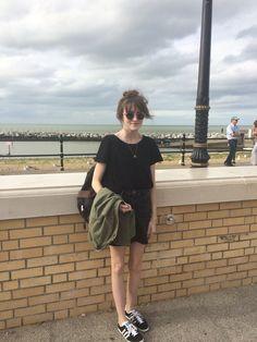 All black outfit http://www.josies-journal.com/2015/08/beside-seaside.html