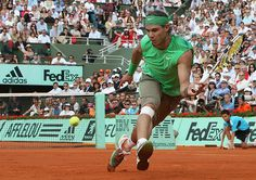 Credit: Pierre Verdy/AFP/Getty Images  2008 French Open Nadal d. Federer 6-1, 6-3, 6-0 ...
