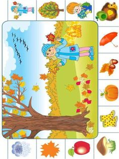 Seasons Activities, Autumn Activities For Kids, Fall Preschool, Preschool Learning Activities, Fall Crafts For Kids, Toddler Crafts, Art For Kids, Art And Craft Videos, Alphabet Coloring Pages