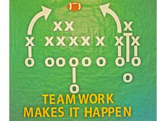 Show your team members that all the right moves start by working together!  This package includes:  Football Xs Os Lines and arrows Letters  Background paper and additional footballs available separately.