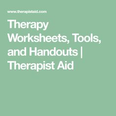 Therapy Worksheets, Tools, and Handouts Psychology Resources, Mental Health Resources, Cognitive Behavior, Therapy Worksheets, School Social Work, Chronic Stress, Therapy Tools, Occupational Therapy, Counseling