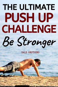 The ultimate push up challenge for men to increase natural strength! If you want to start doing push ups, then check out this awesome push up challenge! Home Workout Men, Workout Routine For Men, Everyday Workout, Workout For Beginners, At Home Workouts, Monthly Workouts, Push Up Routine, Best Workouts For Men, Simple Workouts