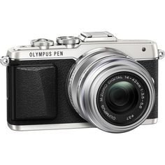 Olympus PEN E-PL7 Mirrorless Micro Four Thirds Digital Camera with 14-42mm f/3.5-5.6 II R Lens (Silver) $699.