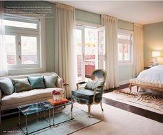 Soft Blue & Cream Bedroom II