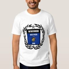(Wisconsin Flag T Shirt) #America #Coatarms #Flag #Patriotic #USA #Unitedstates #Usa #Wisconsin is available on Funny T-shirts Clothing Store   http://ift.tt/2d6RsBO