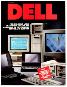 The Summer 1991 Dell product catalog