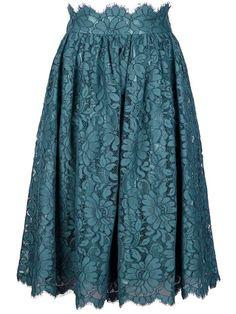 Dolce & Gabbana Floral Lace Skirt - - Farfetch.com