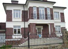 Фасады из клинкерного кирпича фото фото