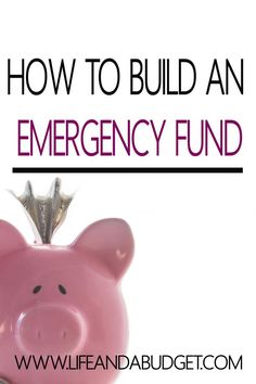 Are you living paycheck to paycheck? Do you have to put every emergency on a credit card or borrow money from family and friends? If so, this post is for you. You will learn how to build an emergency fund, even on little income so you can build wealth and not create debt. Pin/Read this now so you'll have the cash later!