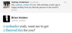 Brian Holden is amazing