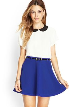 Forever 21 peter pan collar blouse