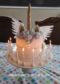 Unicorn cake by Ada Plainaki & New Sweets on the Blog (educational website)