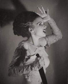 The Bride Of Frankenstein ~ Elsa Lanchester 1935