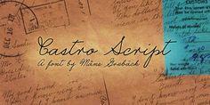Castro Script Font | dafont.com
