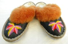 SALE  womens ladies real leather Sheepskin by TrendingSlippers, $18.99