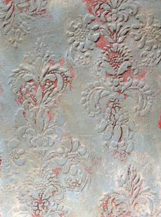 Plaster Finish and Annie Sloan ..... Provence Stenciled Plaster Finish with the Vella. Diy Vella Texture Tutorial AND Combined wall finish techniques with painted furniture skills to become a professional decorator. Click on my board Annie Sloan and find all the techniques and examples you need.