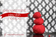 Peppermint-play-doh