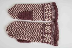 Vanten Karin – Dela dina vantar! Wrist Warmers, Mittens, Knitting Patterns, Knitting Ideas, Knitted Hats, Free Pattern, Gloves, Socks, Crochet