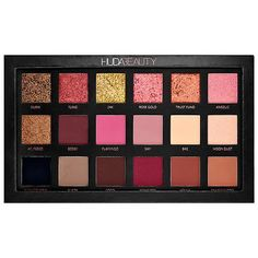 Eyeshadow Palette - Rose Gold Edition - Huda Beauty | Sephora