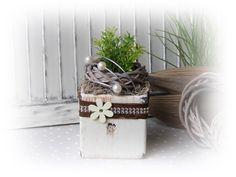 Kunstblumen & -pflanzen - Pfiffige Wohndeko  - ein Designerstück von Flora89 bei DaWanda