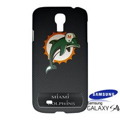 NFL Miami Dolphins Custom Samsung Galaxy S4 S IV Hardshell Case Cover - PDA Accessories